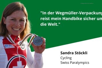Paralympics in Tokio: Handbike fliegt in Wegmüller-Kiste mit