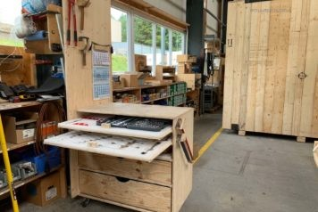 5S-Einrichtungen aus Holz